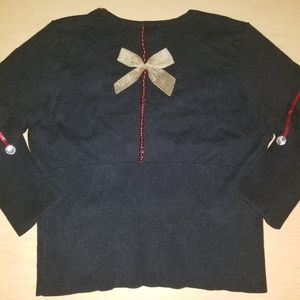 Mossimo Supply Co. Sweaters - Ugly Christmas Sweater BOWS Mossimo XL XXL